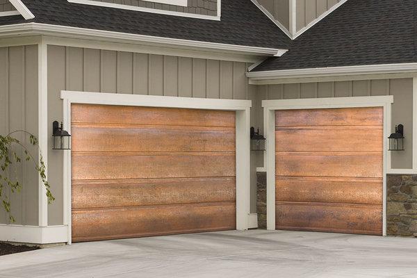Copper Garage Doors 9