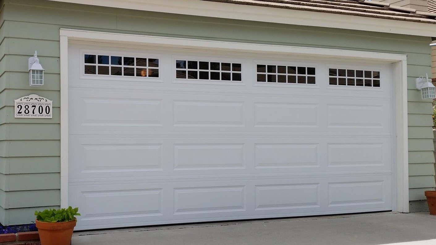 Process of Installing a New Garage Door and Opener from Start to ...